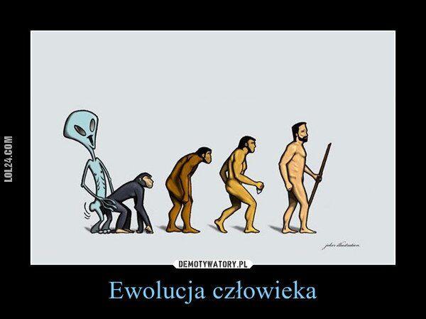demotywator : Kosmiczna ewolucja!