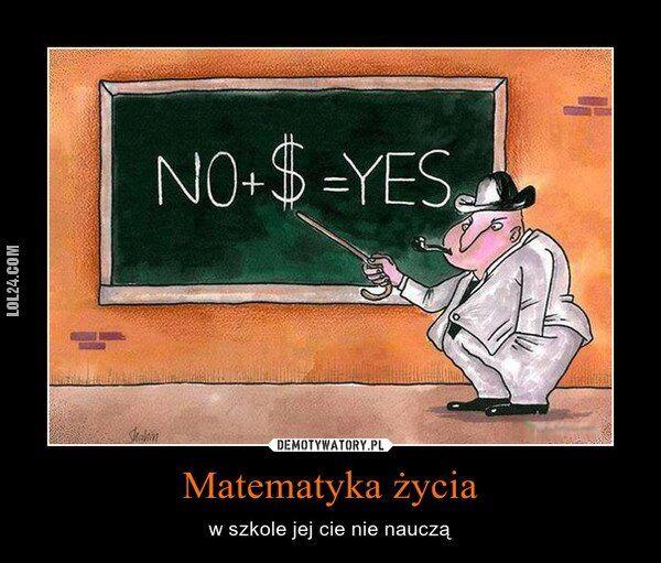 demotywator : Matematyka.