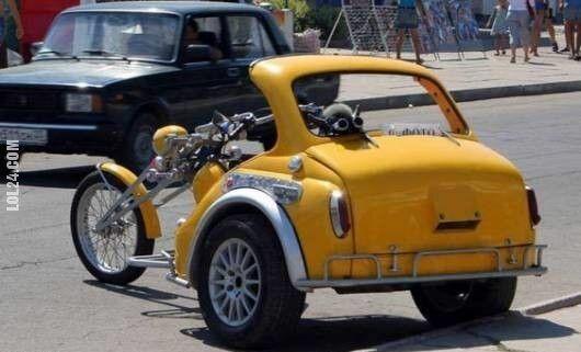 motoryzacja : Trójkołowiec