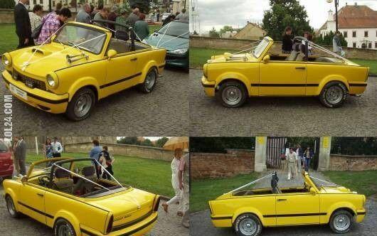 motoryzacja : Trabant Cabrio