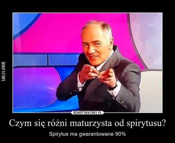 demotywator : Maturzysta!