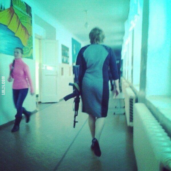 ekstremalna : Tymczasem w Rosyjskiej szkole