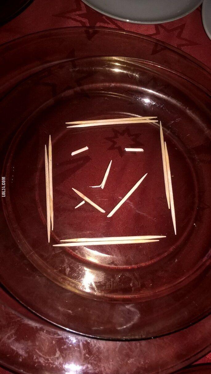 rzeźba, figurka : Uśmiech na talerzu