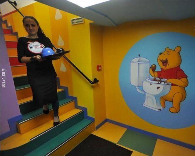 rysunkowa : Kubuś Puchatek w rosyjskim przedszkolu