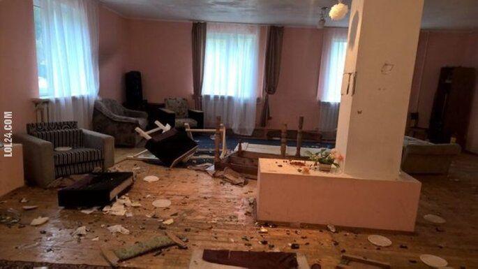 po imprezie : Tak wygląda mieszkanie po imprezie w Rosji