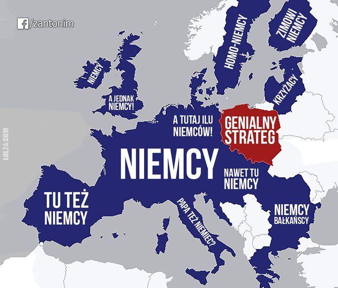 polityka : Jak PIS widzi Europę