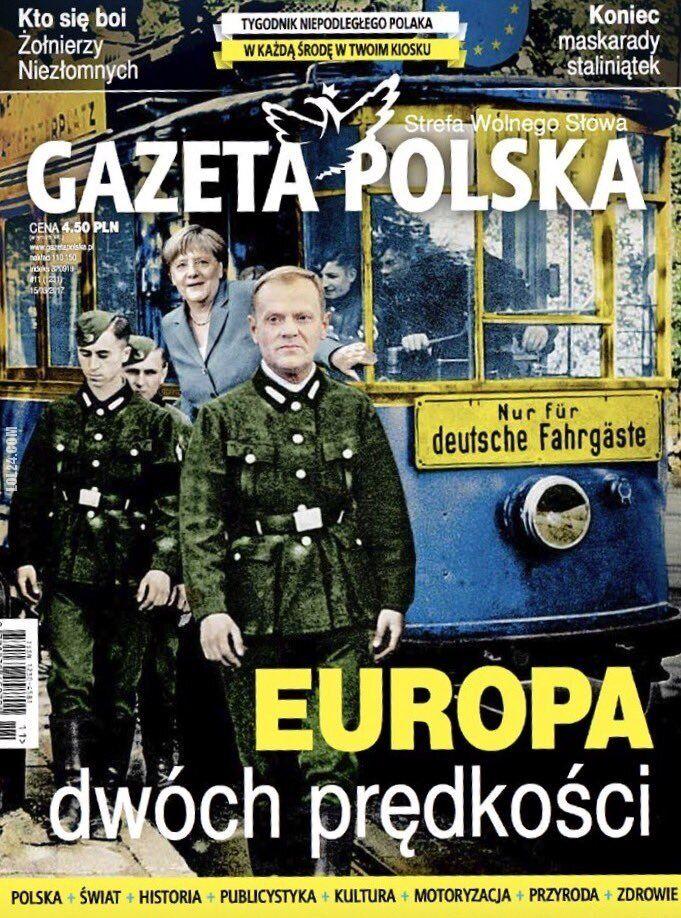 polityka : Okładka propagandowa - Gazeta Polska