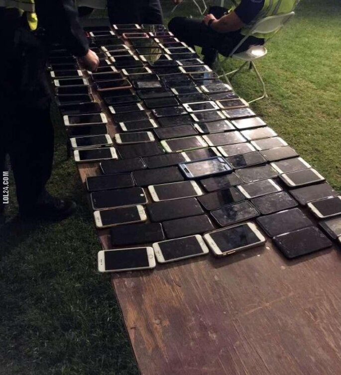 pozostała : Złodziej ukradł jednego dnia ponad 100 smartfonów na festiwalu Coachella