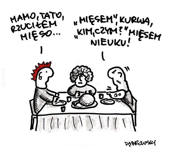 komiks : Mamo, tato rzuciłem mięso