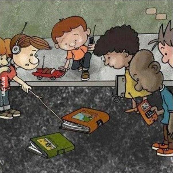 rysunkowa : Przyszłość książki?