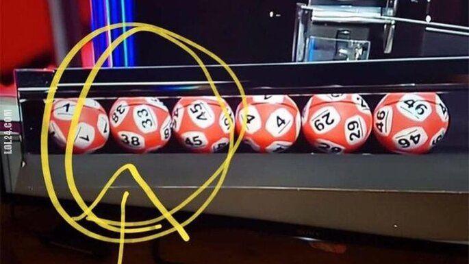 wpadka : Lotto w Irlandii, jedna kula dwa numery
