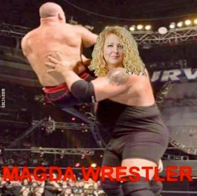 mem : Magda Wrestler