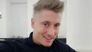 Robert Lewandowski z nową fryzurą