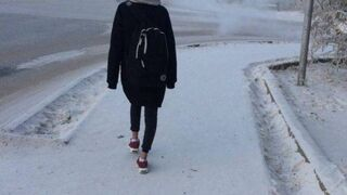 Co tam śnieg, modnie ma być!