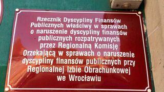 Rzecznik Dyscypliny Finansów Publicznych właściwy w sprawach o naruszenie dyscypliny finansów publicznych...