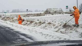W tym roku, to drogowcy zaskoczyli zimę. Wielkopolska