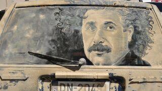 Eisenstein na brudnym samochodzie