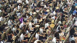 Egzamin wstępny do szkoły artystycznej. Chiny