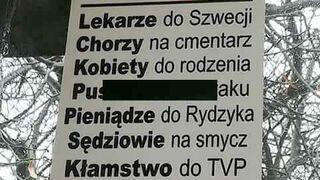 Program PiS #niechjadą