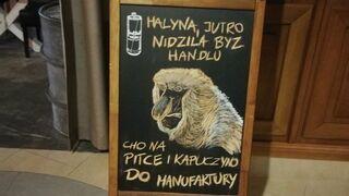 """Halyna, jutro nidziela bez handlu"""