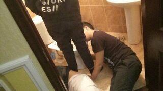 Kolejka w łazience