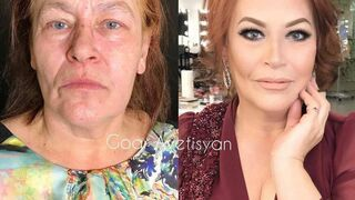 Przed i po. Make-up dla dojrzałych kobiet