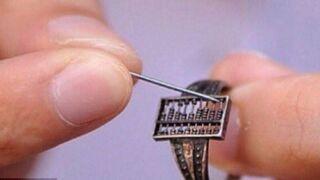 Liczydło w pierścionku