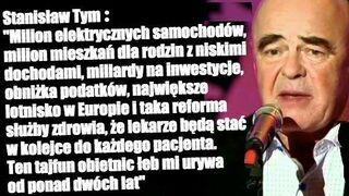 """Stanisław Tym """"Tajfun obietnic"""""""