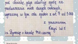 Mikołaj odpowiedział Krzysiowi na list