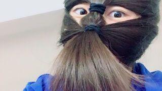Fryzura ninja