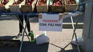 Cena truskawek