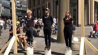 Protest klimatyczny w Kolonii