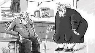Starość nie radość.