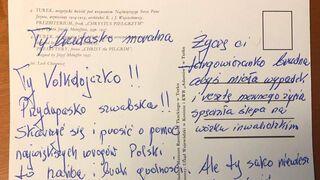 Kartka pocztowa skierowana do Prezes Sądu Najwyższego