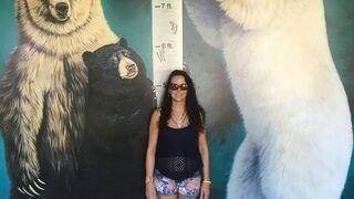 Jak duży jest niedźwiedź polarny w stosunku do człowieka