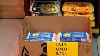 nowa marka jaj (bez) GMO