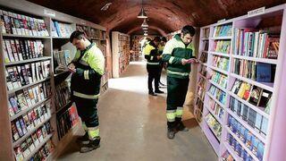 W Turcji otworzono bibliotekę z książkami , które ludzie wyrzucają do śmieci