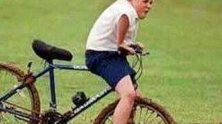 Tyle co po komunii a rower już brudny