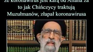 Muzułmański teolog złapał koronowirusa