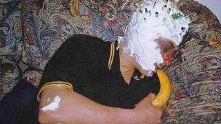 umazany z bananem