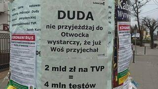 Otwock: Duda zostań w domu, tak jak cała Polska