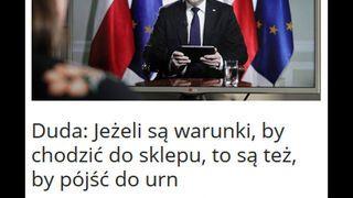 Logika Andrzeja Dudy