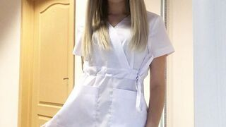 Piękna pielęgniarka