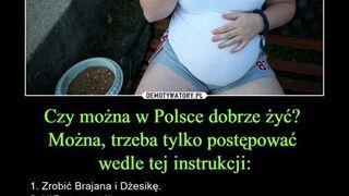 Czy można w Polsce dobrze żyć?