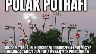 Polscy kibice potrafią obejść ograniczenia