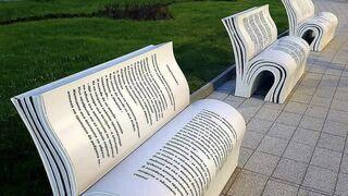 Ławki dla czytających
