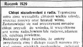 Teoria spiskowa Anno Domini 1929.