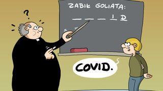Zabił Goliata