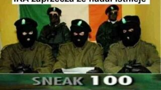IRA zaprzeczam, że nadal istnieje