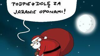 Wnerwiony Mikołaj